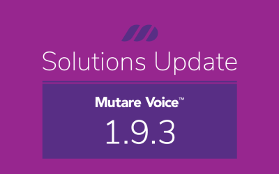 Release Notes: Mutare Voice May 2020 1.9.3