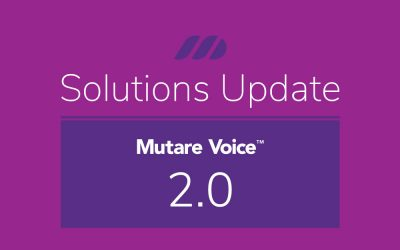 New Release:  Mutare Voice Sept 2020 2.0